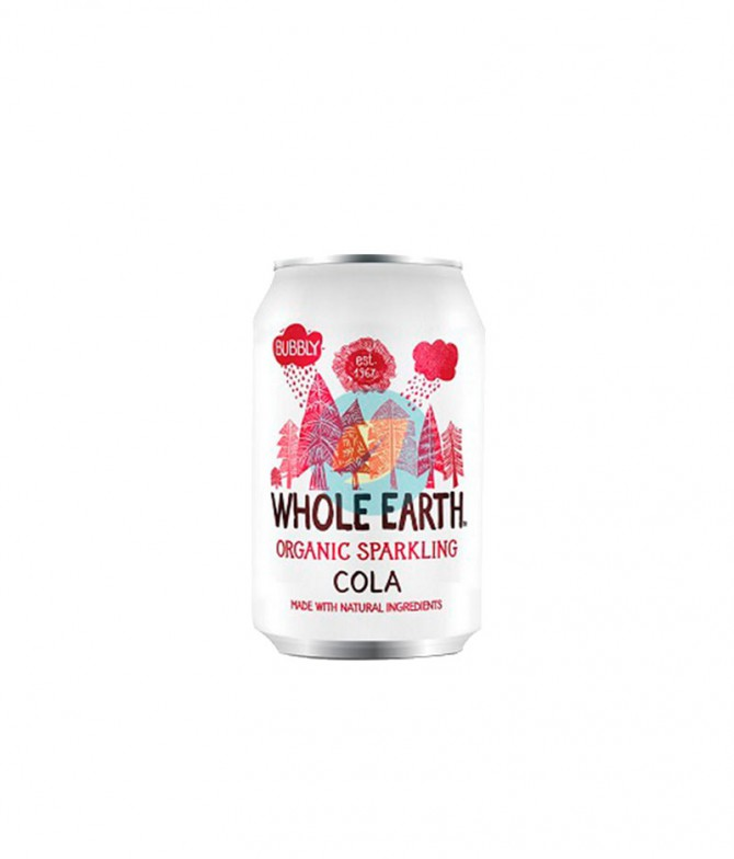 Refresco Whole Earth Cola/Ginger/Limón/Manzana