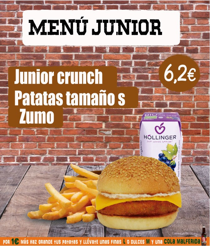 Menú Junior